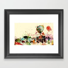 World as One : Human Kind Framed Art Print