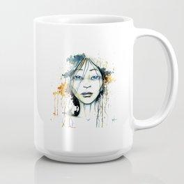 Aqua blue orange  Coffee Mug