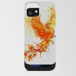 Fiery Phoenix  iPhone Card Case