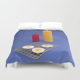 Egg BBQ Duvet Cover