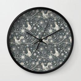 Nocturnal birds Wall Clock