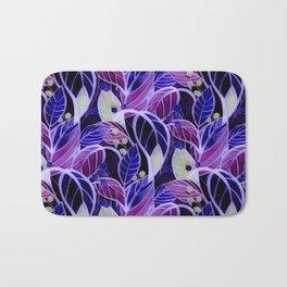 Violets and Blues Bath Mat
