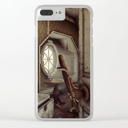 The Old Shabby Room Artwork Clear iPhone Case