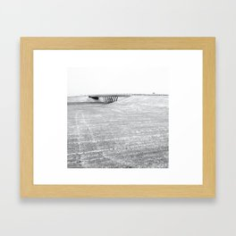 Over Under Framed Art Print