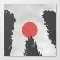 giants Canvas Prints featuring Giants by Kerry_fiN