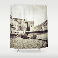 antique Shower Curtains featuring [Antique] by Mathias Rat