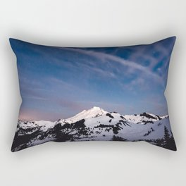 Mount Baker - Nature Photography Rectangular Pillow