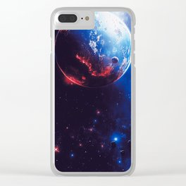 Beyond Infinity Clear iPhone Case