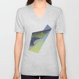 Triangle Mountains Unisex V-Neck