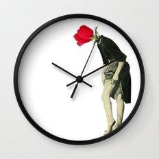 Hello Flower Wall Clock