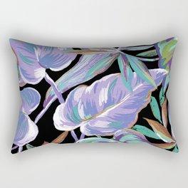 Spring tropical leaves Rectangular Pillow