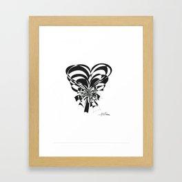 Bouquet of Hearts Framed Art Print