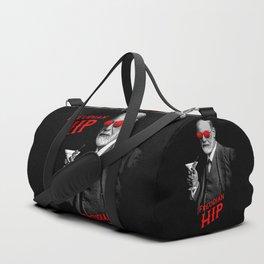 Hipster Psychologist Sigmund Freud Duffle Bag