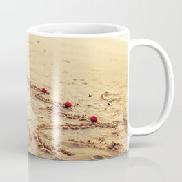 Merry Christmas! - Christmas at the beach Coffee Mug