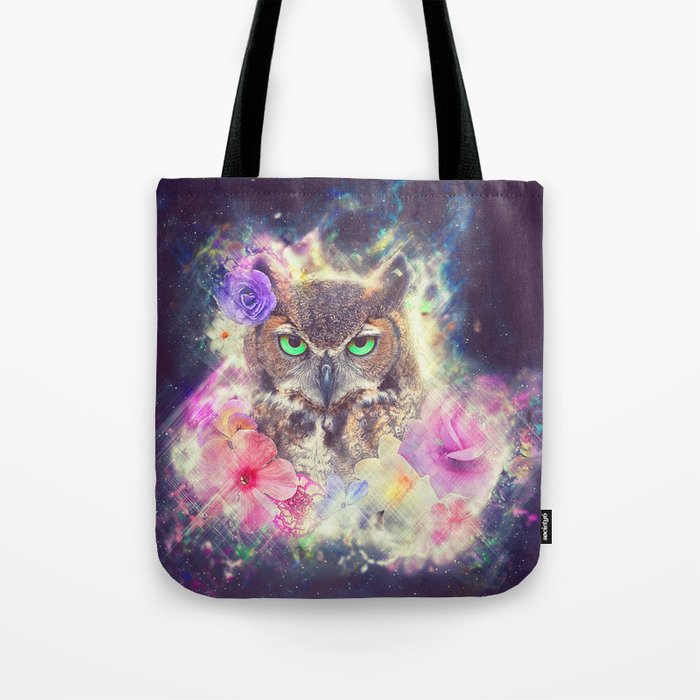 Space Owl with Spice Tote Bag