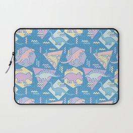 Nineties Dinosaurs Pattern  - Pastel version Laptop Sleeve