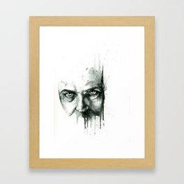 Cynical Sufferance Framed Art Print