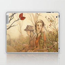 Jane Austen, Mansfield Park - the Garden Laptop & iPad Skin