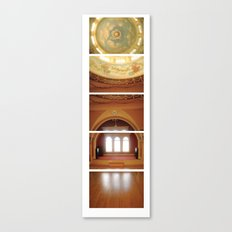 Daunting Dance Hall/ Bass Mansion Canvas Print