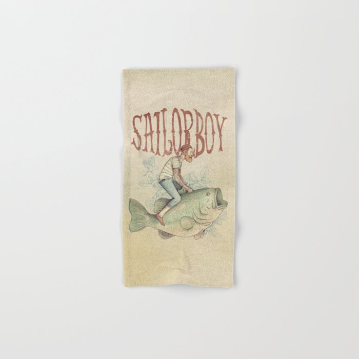 Sailorboy Hand & Bath Towel