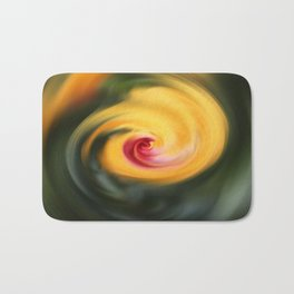 Abstract From Hibiscus Bath Mat