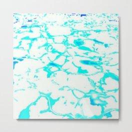Waters Glimmer Metal Print