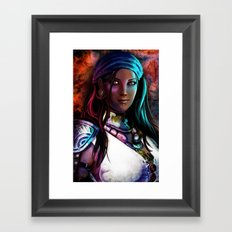 Pirate Queen Framed Art Print