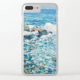 Surf, Isles of Shoals - Childe Hassam Clear iPhone Case
