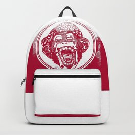 Crazy Monkey Laugh Backpack