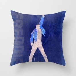 Freddie - Rock Wall 4 of 16 Throw Pillow