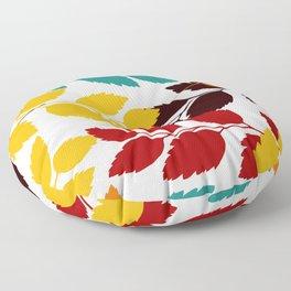 Leaves patten Floor Pillow