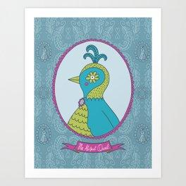 Ms. Abigail Quail Art Print