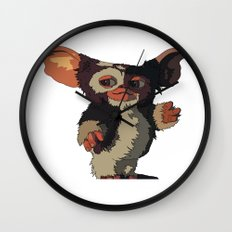 Gizmo, Gremlin color Wall Clock
