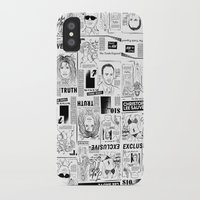 scandal iPhone & iPod Cases featuring Scandal Pattern by CLSNYC