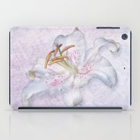 lily iPad Cases featuring Lily by Lynn Bolt