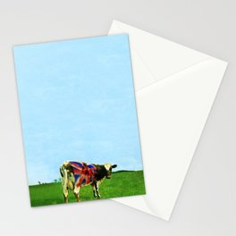 Atom Cow Stationery Cards