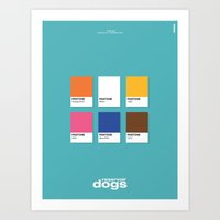 reservoir dogs Art Prints featuring Reservoir Dogs by Rahma Projekt