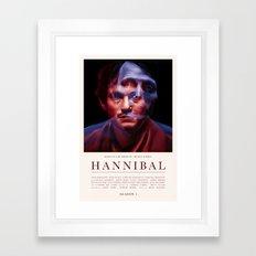 Hannibal - Season 1 Framed Art Print
