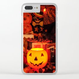 A Very Vintage Halloween Clear iPhone Case