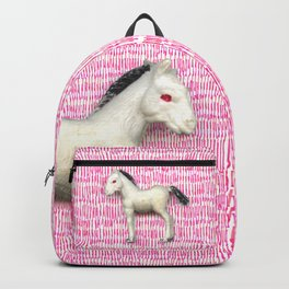 My little foal in a sea of pink Backpack