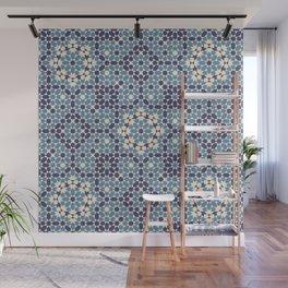 Moorish Desert Blues Wall Mural
