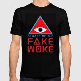 BEWARE THE FAKE WOKE GRAPHIC TEE T-shirt