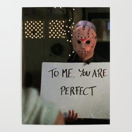 JASON VORHEES IN LOVE ACTUALLY Poster