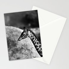 Whiteout - Giraffe Stationery Cards