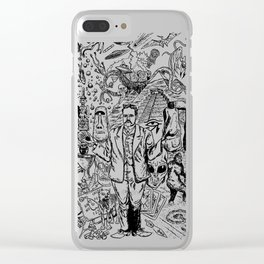 Charles Fort Clear iPhone Case