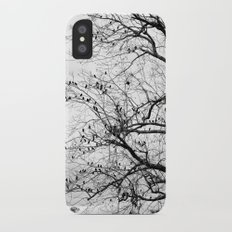 A Tree Full of Birds Slim Case iPhone X