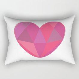Heart Gem Rectangular Pillow