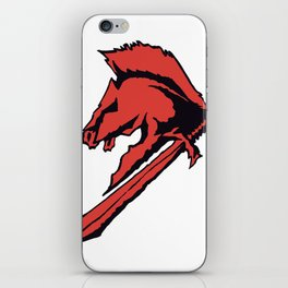Horse of War iPhone Skin