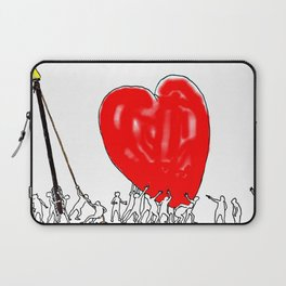 Here comes all my love! Laptop Sleeve