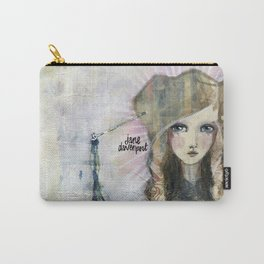 Gesso Geisha by Jane Davenport Carry-All Pouch